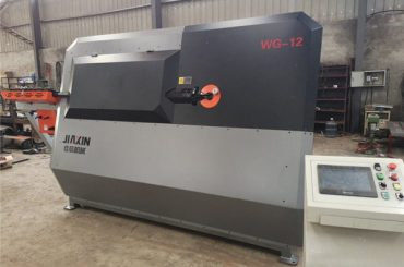 4mm-12mm هيدروليّ cnc فولاذيّ قضيب آلة تقويس، rebar يثنّي آلة، آليّ فولاذيّ stirrup يثنّي آلة