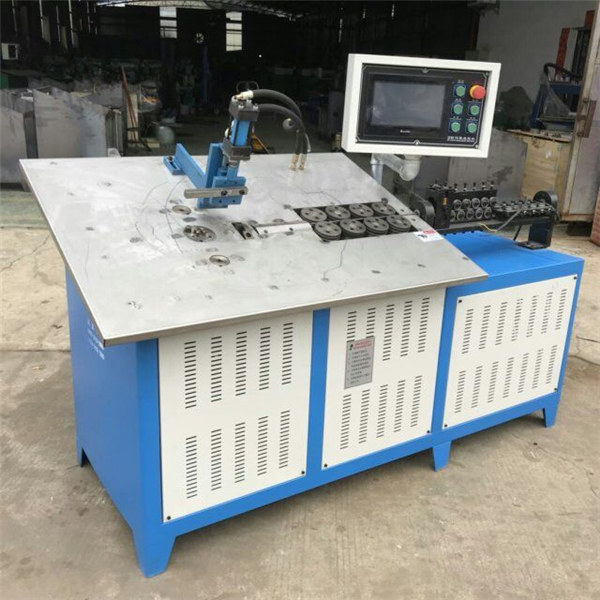 Hot sale automatic 3d steel wire forming machine cnc 2d wire bending machine price