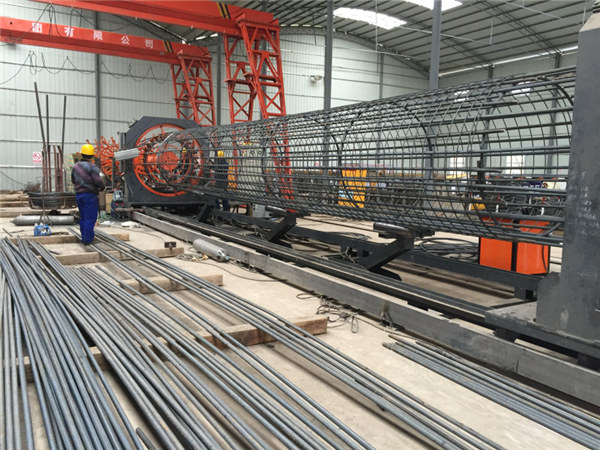 Best price welded wire mesh roll machine,Reinforcing cage seam welder diameter 500-2000mm
