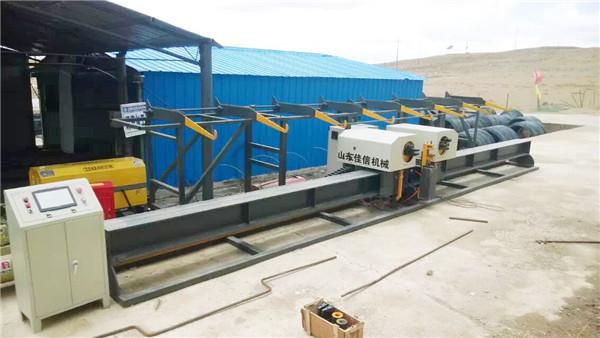 Hot sale Vertical rebar Double Benderrebar bender centerautomatic rebar bending machine