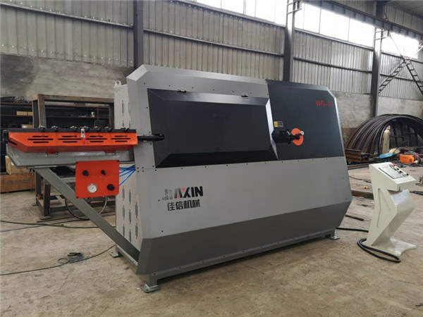 hydraulic automatic 2d cnc steel wire bending machine