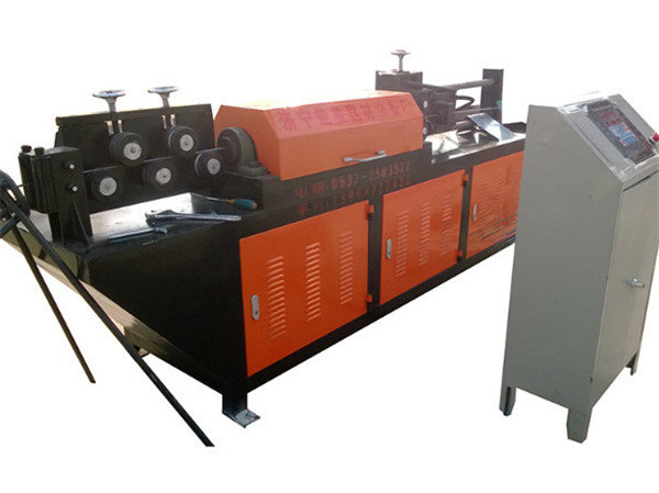 automatic hydraulic wire straightening and cutting machine
